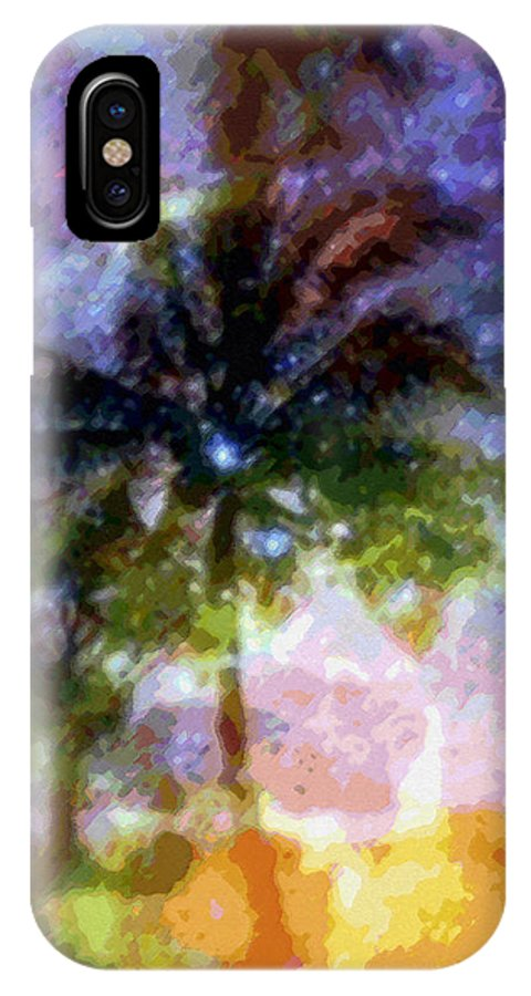 Tropical Interior Design IPhone Case featuring the photograph Mystic Palm by Kenneth Grzesik