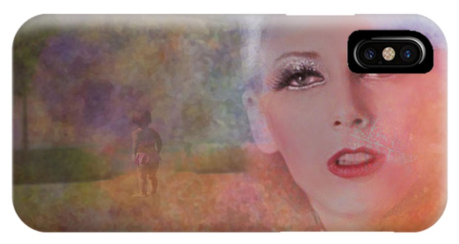 Woman IPhone X Case featuring the photograph Mystic Woman by Jeff Burgess