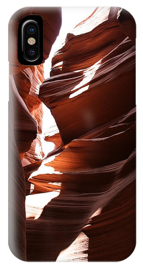 Canyon IPhone X Case featuring the photograph Narrow Canyon Ix by Christiane Schulze Art And Photography