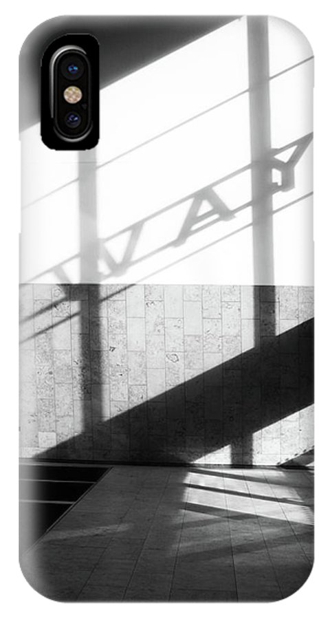 IPhone X Case featuring the photograph Narrow To Me by Jez C Self
