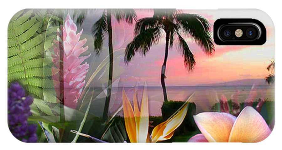Bird Of Paradise IPhone X Case featuring the photograph Natural Beauty by Angie Hamlin