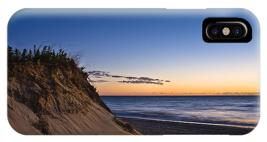 Beach IPhone X Case featuring the photograph Nauset Beach Sunrise by John Greim