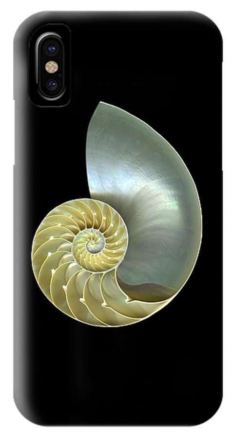 Slanec IPhone Case featuring the photograph Nautilus Nr.1 by Christian Slanec