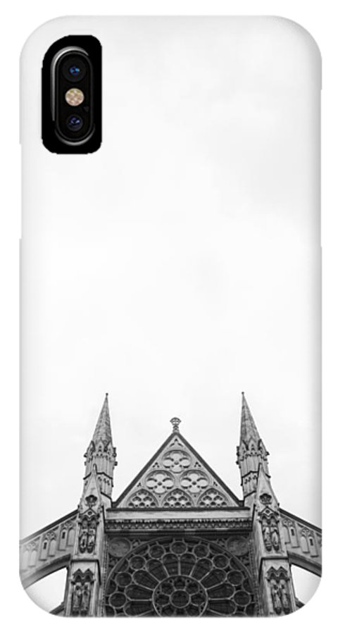 London IPhone X / XS Case featuring the photograph Near The Abbey by Lauren Pfahlert