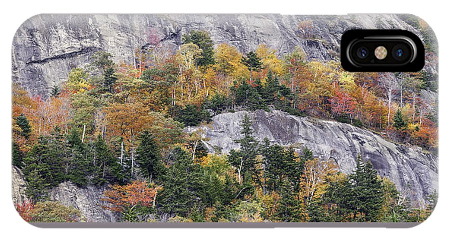 Fall IPhone X Case featuring the photograph New England Foliage Burst by Expressive Landscapes Fine Art Photography by Thom