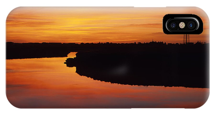 Atlantic Ocean IPhone Case featuring the photograph New Hampshire Salt Marsh At Sunrise by Erin Paul Donovan