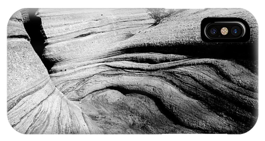 Rightfromtheart IPhone X Case featuring the photograph Kasha-katuwe Tent Rocks National Monument 3 by Bob and Kathy Frank