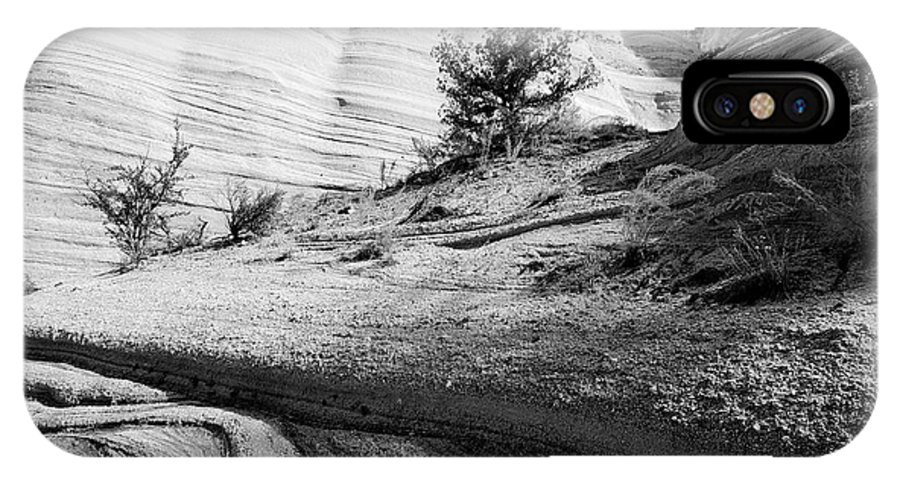 Rightfromtheart IPhone X Case featuring the photograph Kasha-katuwe Tent Rocks National Monument 4 by Bob and Kathy Frank