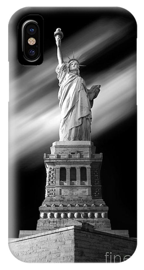 IPhone X Case featuring the photograph New York Time by Dika yudha rio p