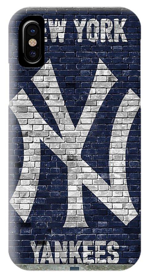 best sneakers 70e57 4b7df New York Yankees Brick Wall IPhone X Case