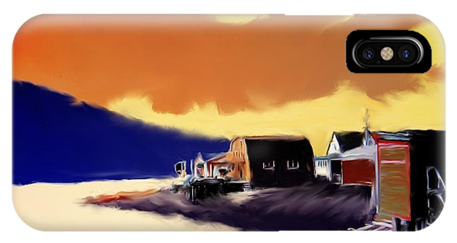 Newfoundland IPhone Case featuring the photograph Newfoundland Fishing Shacks by Ian MacDonald