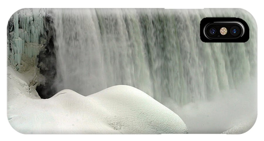 Landscape IPhone X Case featuring the photograph Niagara Falls 3 by Anthony Jones