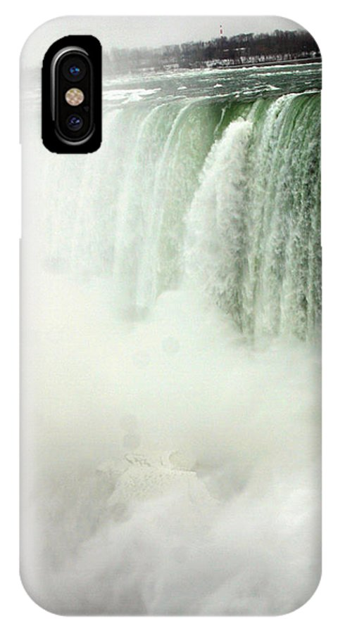Landscape IPhone X Case featuring the photograph Niagara Falls 4 by Anthony Jones