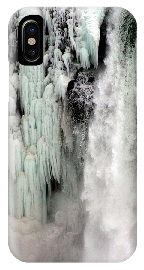 Landscape IPhone X Case featuring the photograph Niagara Falls 5 by Anthony Jones