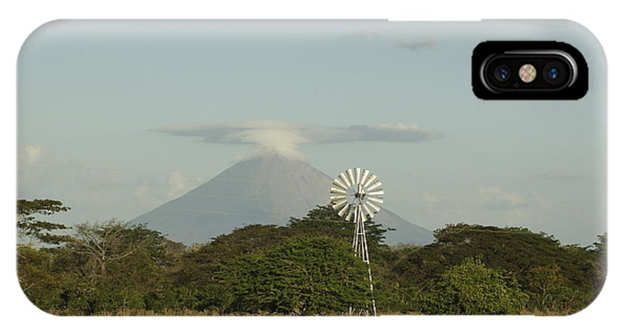 Volcano IPhone Case featuring the photograph Nicaragua Landscape by Carmen Hooven