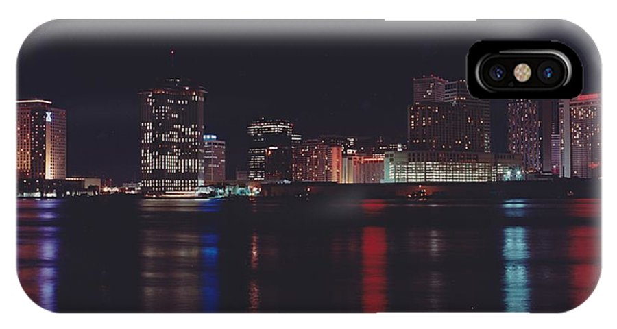 Night Scape IPhone X Case featuring the photograph Night Scape by Michelle Powell