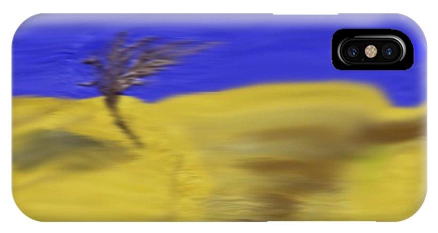 Night IPhone X Case featuring the digital art Night Way by Dr Loifer Vladimir