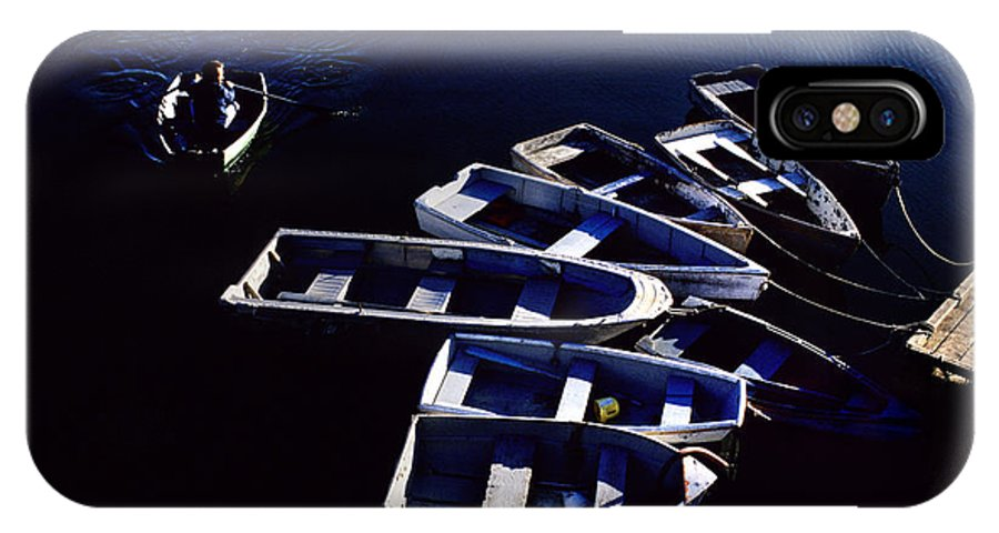 Rowing IPhone Case featuring the photograph No Parking Rower by Steve Somerville