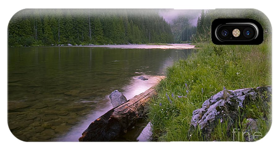 Kelly Creek IPhone X Case featuring the photograph North Fork Of The Clearwater by Idaho Scenic Images Linda Lantzy