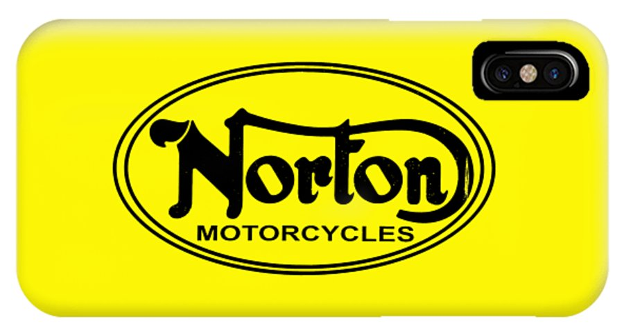 Norton Motorcycle IPhone X Case featuring the photograph Norton Motorcycles by Mark Rogan