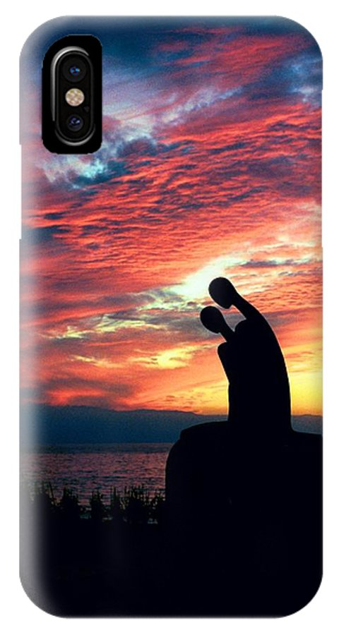 Jose IPhone X Case featuring the photograph Nostalgia By Ramiz Barquet by Sheryl R Smith