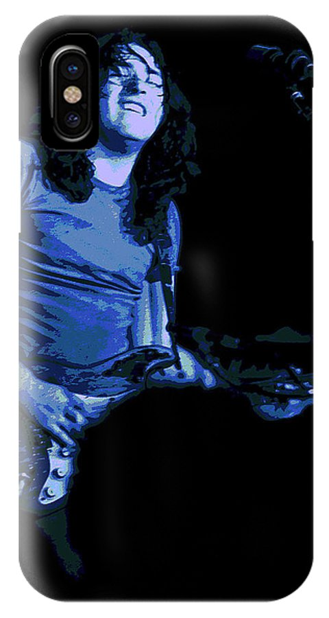 Rock Musicians IPhone X Case featuring the photograph Not Awake Yet Blues 2 by Ben Upham