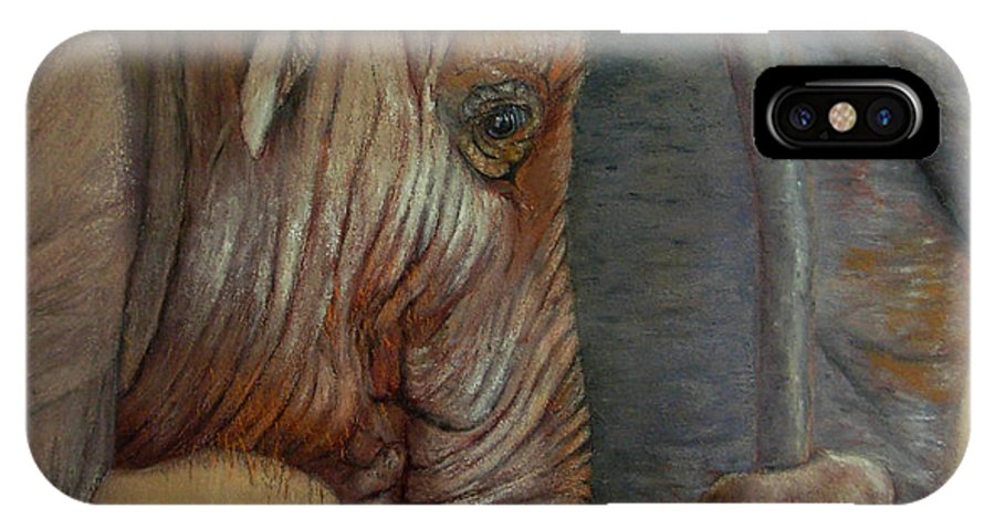 Africa IPhone Case featuring the painting Now You Hold On Tight by Ceci Watson