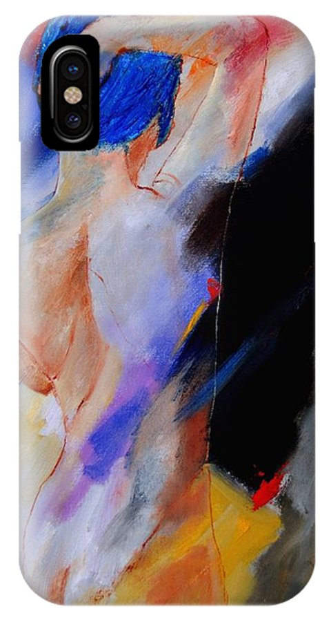 Nude IPhone Case featuring the painting Nude 579020 by Pol Ledent
