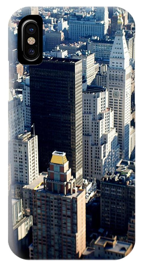 Nyc IPhone X / XS Case featuring the photograph Nyc 2 by Anita Burgermeister