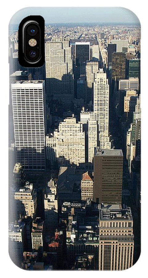 Nyc IPhone X Case featuring the photograph Nyc 5 by Anita Burgermeister