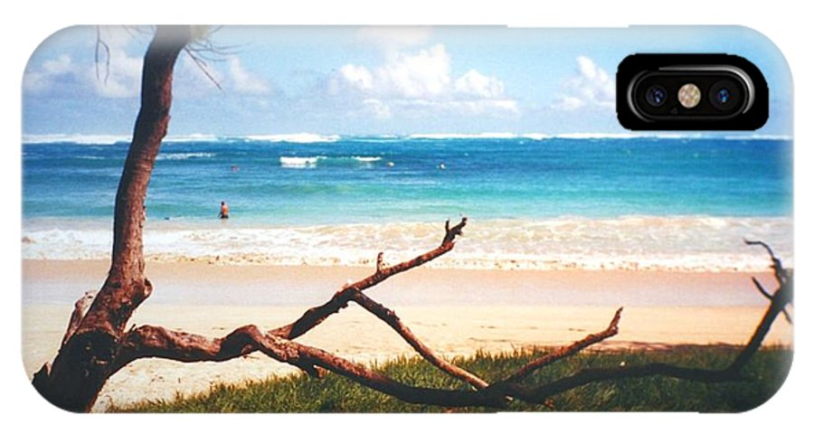 Beach IPhone X Case featuring the photograph Oahu North Shore by Diane Merkle