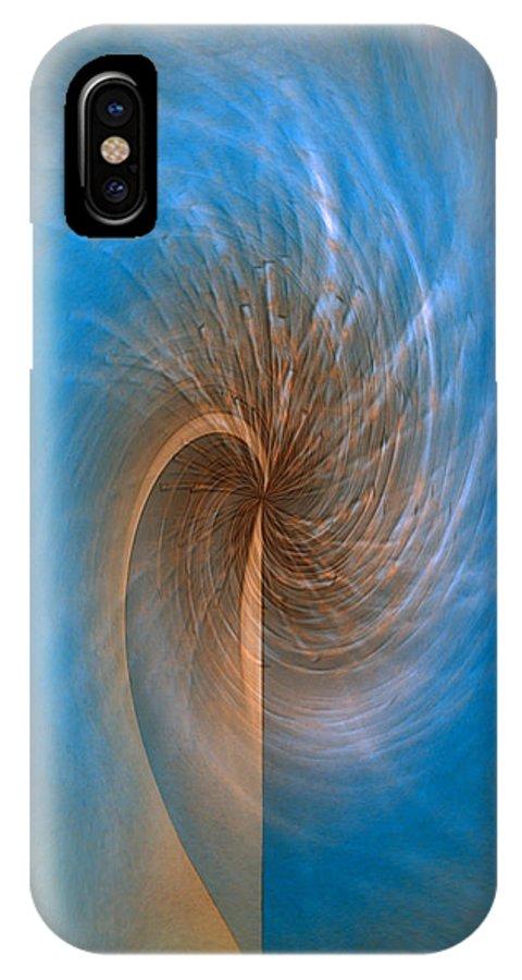 Ocean Breeze Art IPhone Case featuring the digital art Ocean Breeze by Linda Sannuti