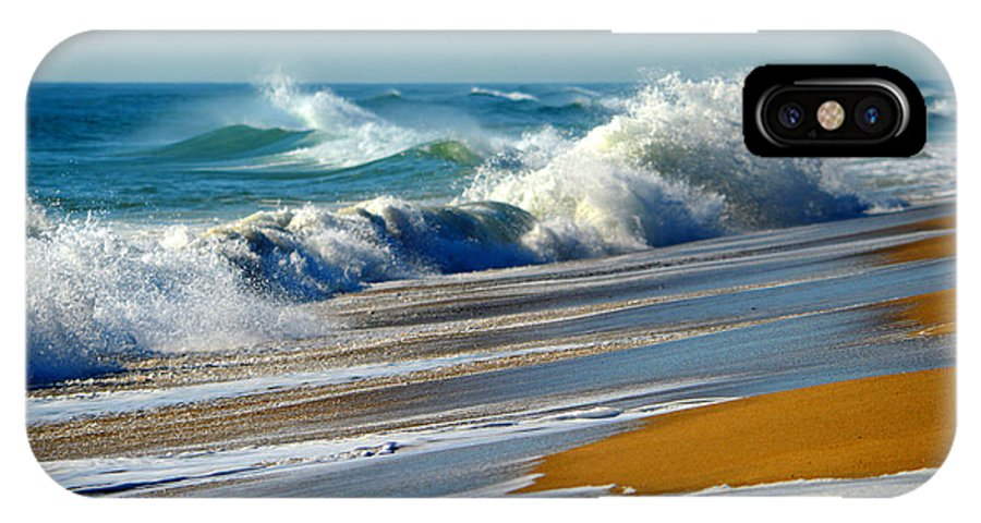 Ocean IPhone X Case featuring the photograph Ocean Delight by Dianne Cowen