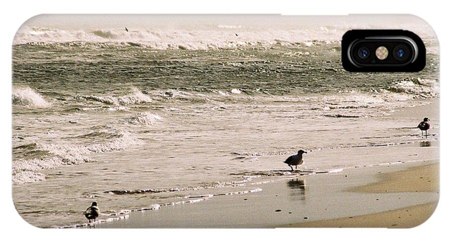 Seascape IPhone Case featuring the photograph Ocean Edge by Steve Karol