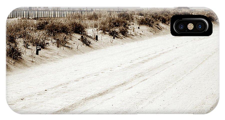 Ocean Grove Beach IPhone X Case featuring the photograph Ocean Grove Beach by John Rizzuto