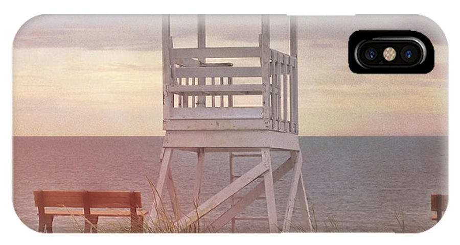 Ocean IPhone X Case featuring the photograph Ocean Lookout by JAMART Photography