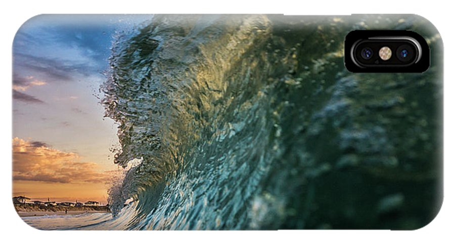 Wave IPhone X Case featuring the photograph Ocean View by Joseph McGrew