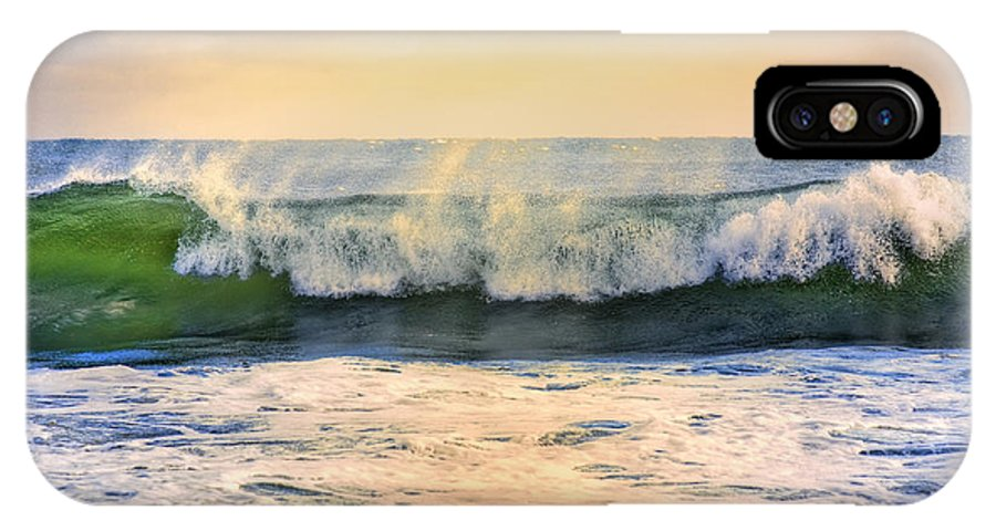 Ocean Waves IPhone X Case featuring the photograph Ocean Waves by Dapixara Art
