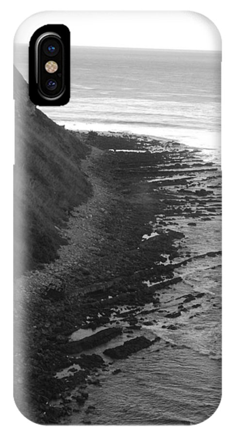 Beaches IPhone X Case featuring the photograph Oceans Edge by Shari Chavira