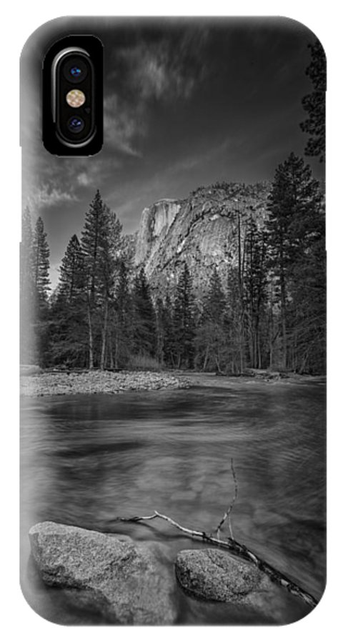Half Dome IPhone X Case featuring the photograph Ode To Ansel Adams by Rick Berk