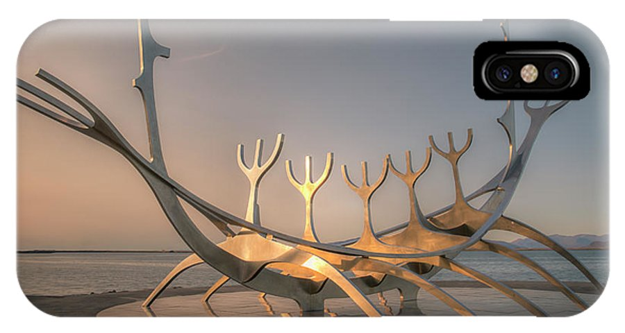 Sun Voyager IPhone X Case featuring the photograph Ode To The Sun 0635 by Kristina Rinell