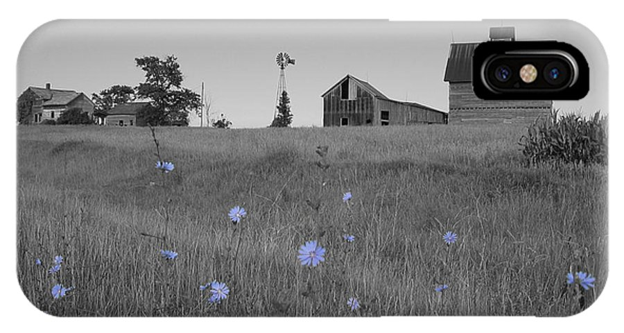 Landscape IPhone X Case featuring the photograph Odell Farm IV by Dylan Punke