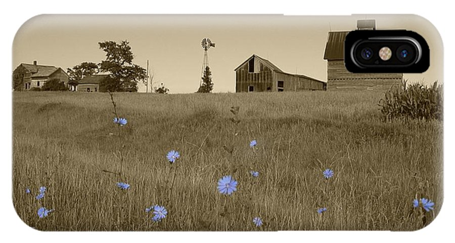 Landscape IPhone Case featuring the photograph Odell Farm V by Dylan Punke