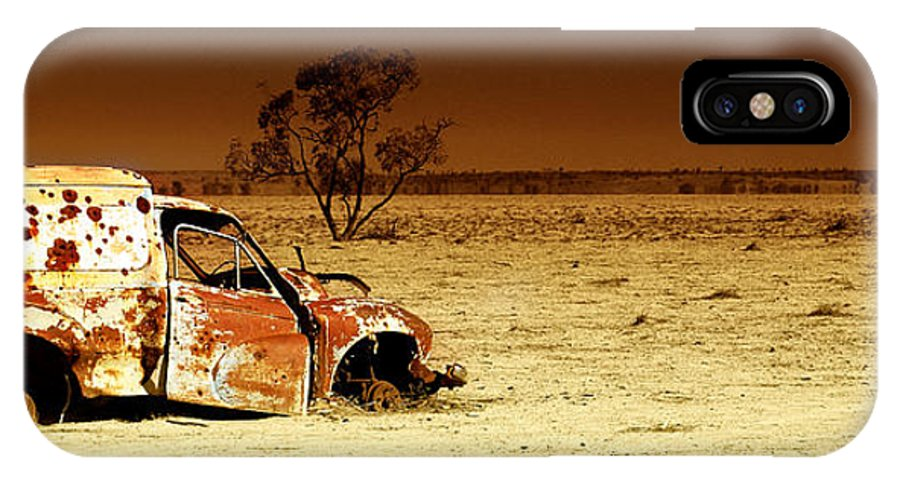 Transportation IPhone X Case featuring the photograph Off Road by Holly Kempe