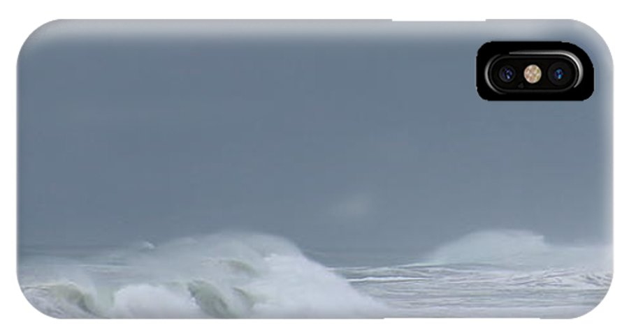 IPhone X Case featuring the photograph Offshore Winds by Larry Daeumler