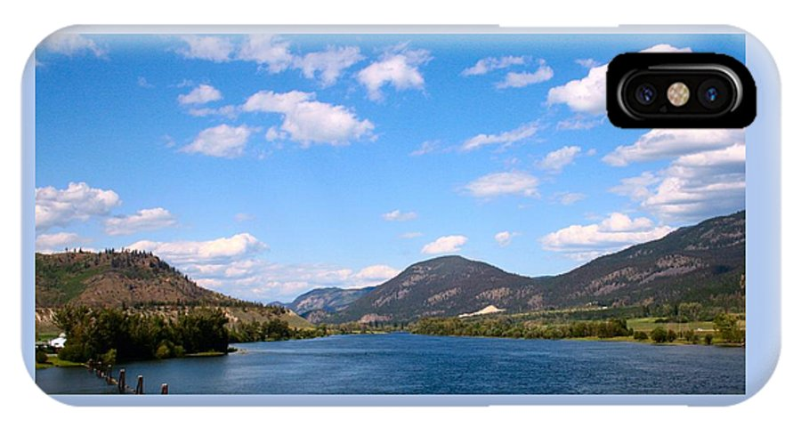 Summer IPhone X Case featuring the photograph Okanagan Summer by Tiffany Vest
