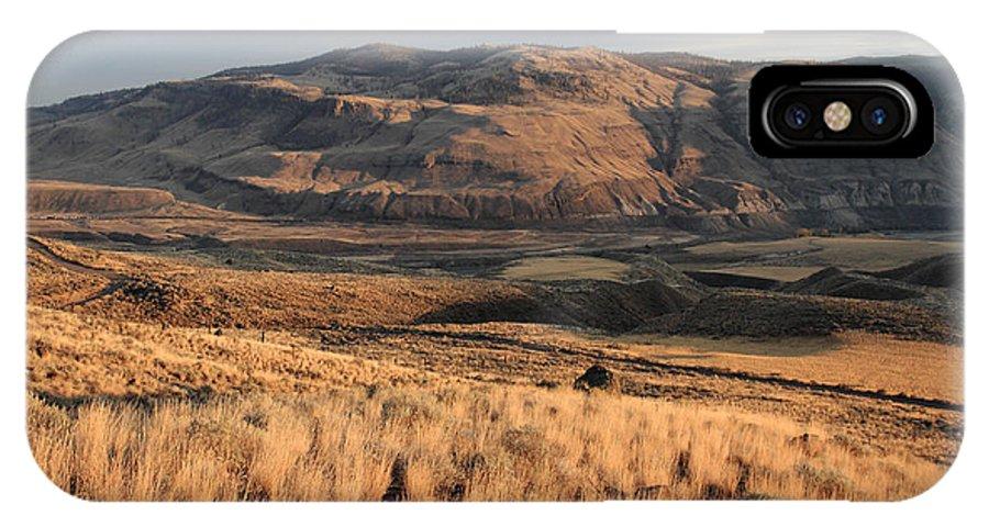 Okanagan IPhone X Case featuring the photograph Okanagan Valley Sunset Glow by Pierre Leclerc Photography