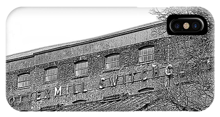 Old Factory IPhone X Case featuring the photograph Old Factory by Andy Thompson
