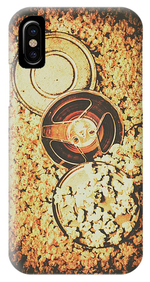 Motion IPhone X Case featuring the photograph Old Film Festival by Jorgo Photography - Wall Art Gallery