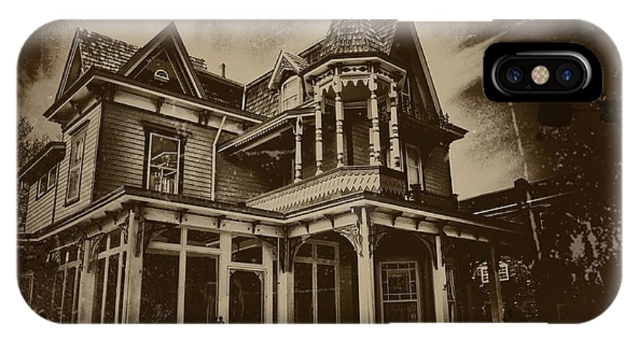 Cape May IPhone X Case featuring the photograph Old House In Cape May by Bill Cannon